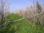 blocco sentiero e recinzione
