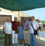 Emilio e Solidea con i sindaci